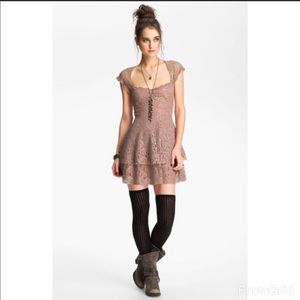 Free People Rock Candy Dress In taupe